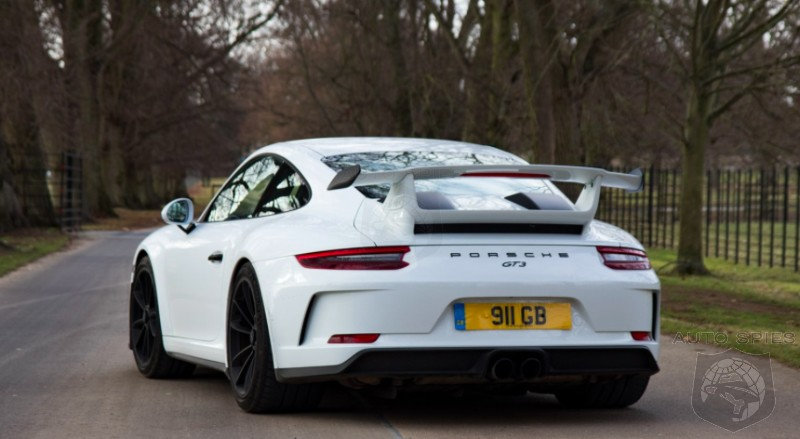 DRIVEN: So, What's A 2018 Porsche 911 GT3 With A STICK REALLY Like?