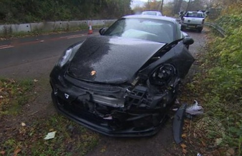 Top Gear's Chris Harris Involved In Crash With Porsche 911 GT3 Touring