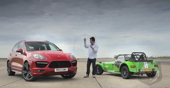 CAR WARS! David V. Goliath — Porsche V. Caterham On The TRACK!