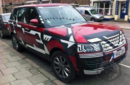SPIED: Range Rover's All-New Flagship CAUGHT Again Right In The CENTER Of A Village