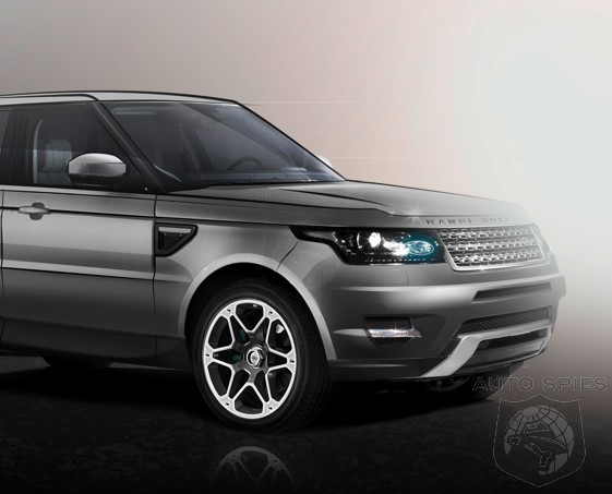 RENDERED SPECULATION: Yet ANOTHER Rendering Of Range Rover's Upcoming SPORT Model