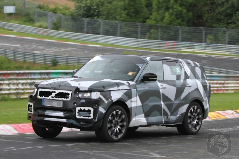 SPIED: Range Rover Isn't Kidding Around With Its All-New SPORT - Spotted Getting A Track-Day Workout