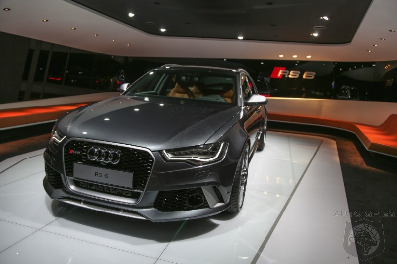 GENEVA MOTOR SHOW: Audi Debuts Its RS 6 Avant In A STUNNING Combo