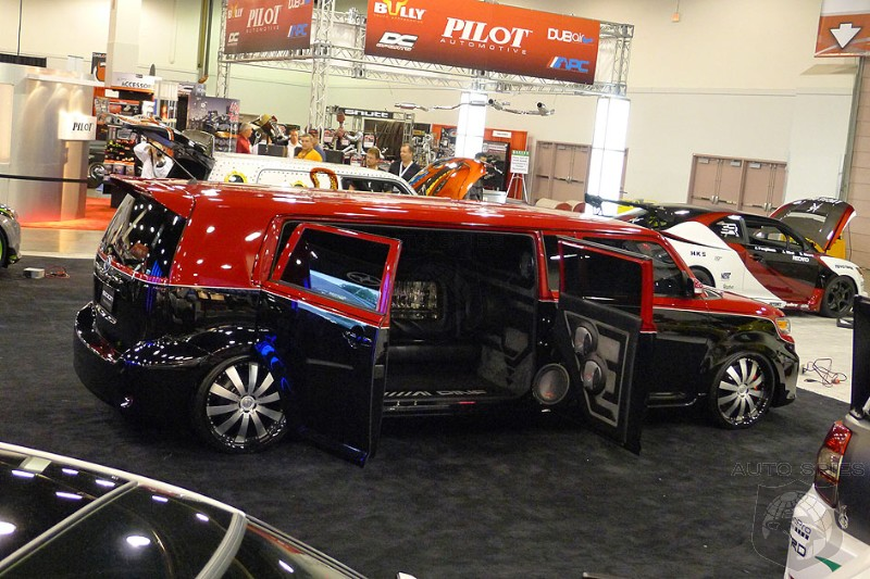 WORLD EXCLUSIVE: Spies Get FIRST Photos Of SEMA Show One Day Before It Opens!