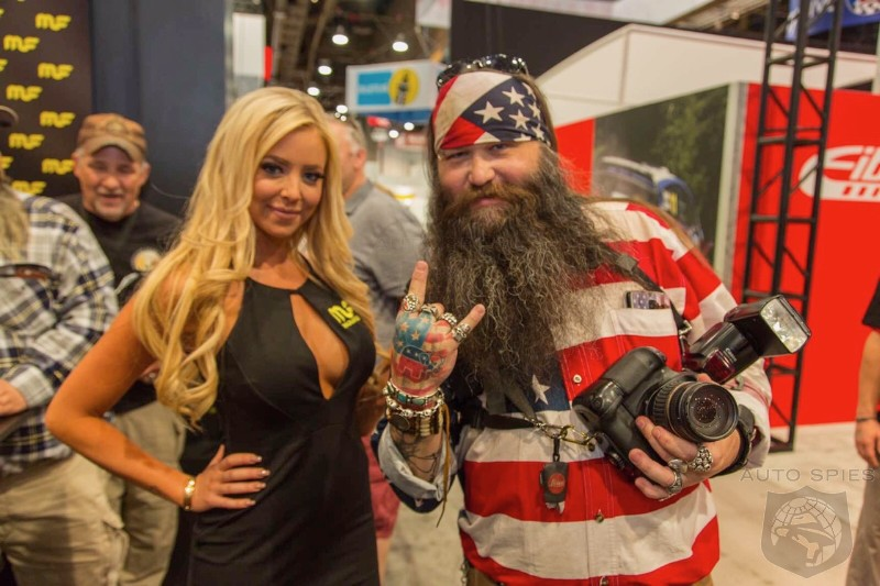 #SEMA: God Bless 'MURICA! Agents Give YOU The Highlights Of The American Iron At The Show