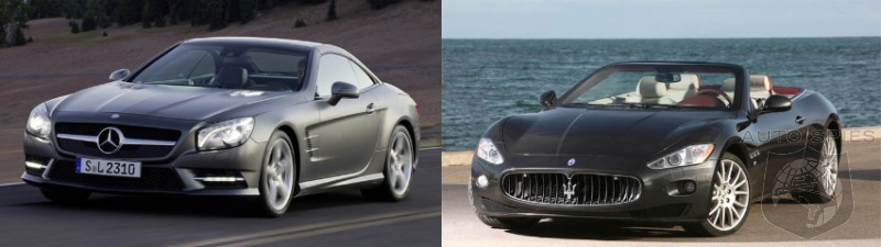 CAR WARS! A Luxury Drop-Top Showdown - Mercedes-Benz SL vs. Maserati Gran Cabrio