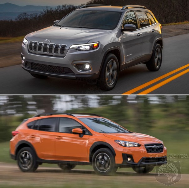 CAR WARS! In A Head-to-Head Of RUGGED-ish SUVs, WHICH Gets