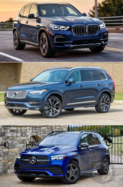 Luxury SUV Showdown! WHICH Would You Put In YOUR Driveway, Spies? '19 X5 vs. '20 GLE vs. '19 XC90?