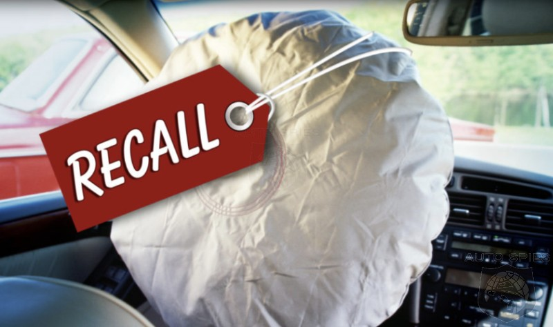 Takata Strikes AGAIN! Another 1.7 MILLION Vehicles Recalled Due To Airbag Inflators — WHEN Will It End?