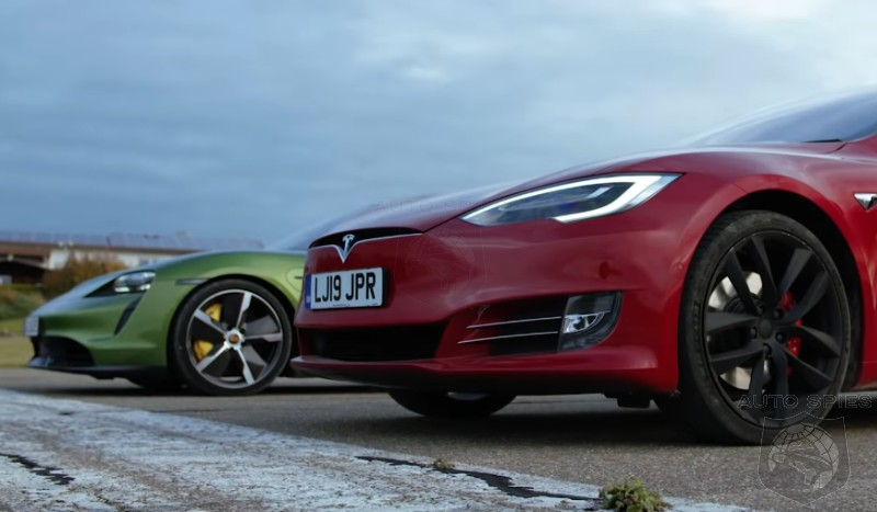 CAR WARS! EV Edition — Top Gear Divulges, Does The Porsche Taycan Turbo S Take DOWN The Tesla Model S?