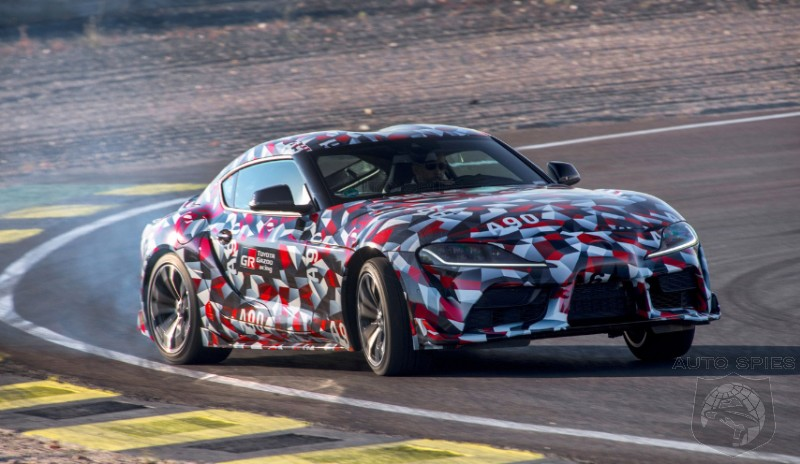 RUMOR: Would You Give A Green Light To An All-new Toyota Supra CONVERTIBLE?