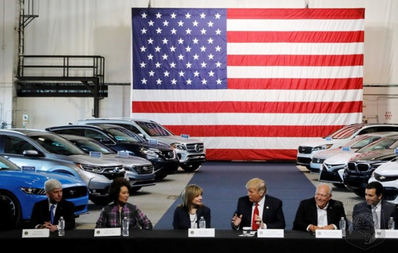 IF Toyota Pulls The Plug On Its $13B Investment In The U.S. Market, Will President Trump Get The Blame — And Will He DESERVE It?