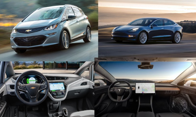 Is The Chevrolet Bolt UnFIT To Even Be Compared To The Tesla 3?