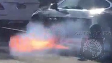 VIDEO: Another Tesla Model S Goes Up In Smoke, This Time The Owner Is A Hollywood Actress' Husband