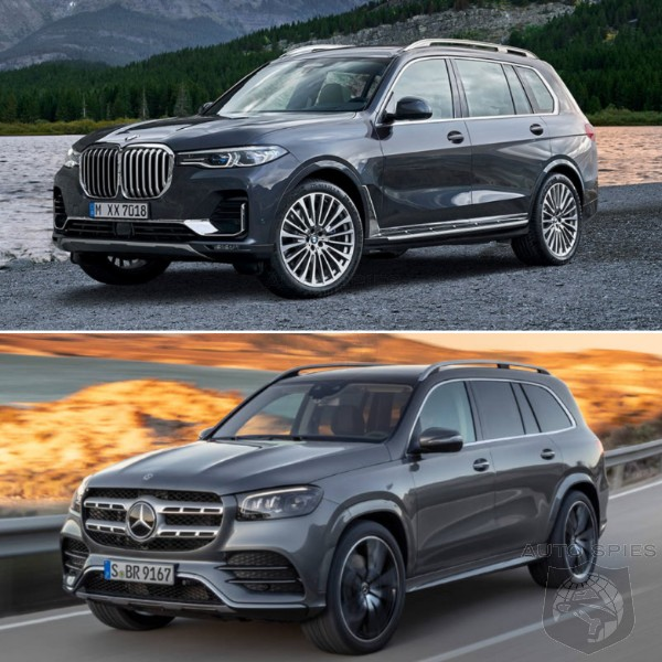 TRUCK WARS! WHO Did It Better? Based On LOOKS, Who Wins? BMW X7 vs. Mercedes-Benz GLS...