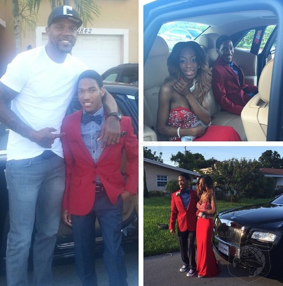Miami Heat's Udonis Haslem Trades In The Roundball For A Chauffeur's Cap
