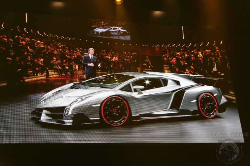 GENEVA MOTOR SHOW: Agent 001 Snaps The FIRST Shots Of The Lamborghini Veneno