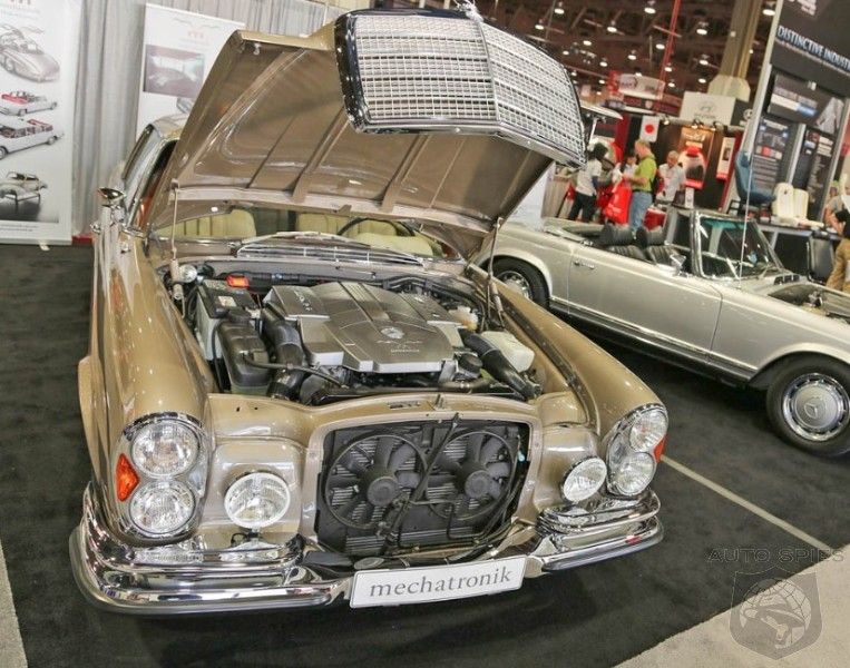 2012 SEMA SHOW: An Vintage Mercedes-Benz Shows Up To Show The New Kids Some Tricks