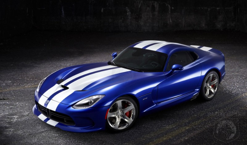 MONTEREY: How Does An SRT Viper Suit YOU In Blue?