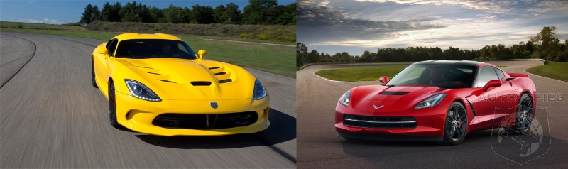 DETROIT AUTO SHOW: FACE OFF — Chevrolet Corvette vs. SRT Viper