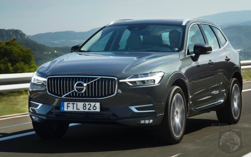 DRIVEN: The Volvo XC60 Delivers In One Of Its First Reviews. Well, Sort Of...