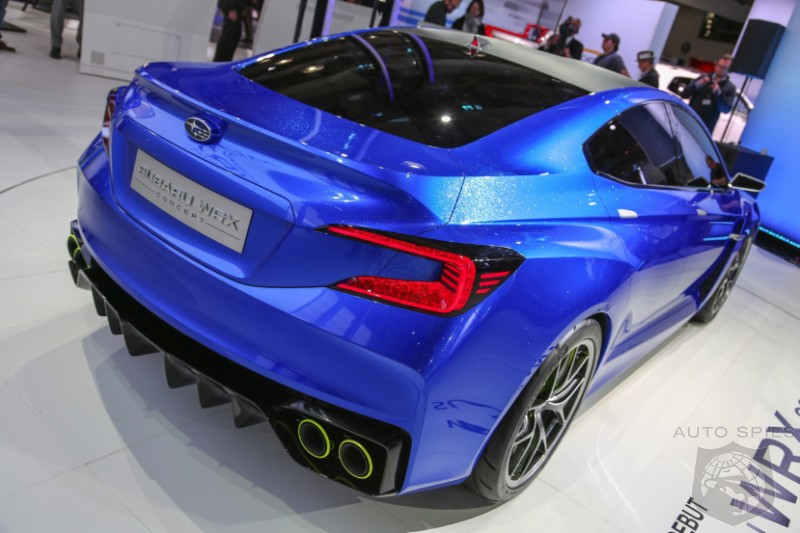 NEW YORK AUTO SHOW: Is Subaru's BANGING BLUE WRX Concept A STUD or DUD?