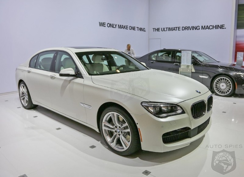 LA AUTO SHOW: BMW Individual Impresses With A White HOT 7