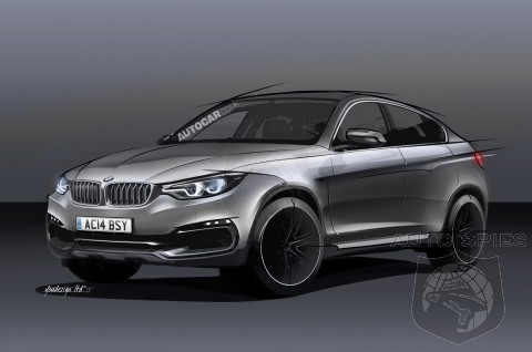 RENDERED SPECULATION: BMW's Next-Gen X6 To Get MORE Hardcore