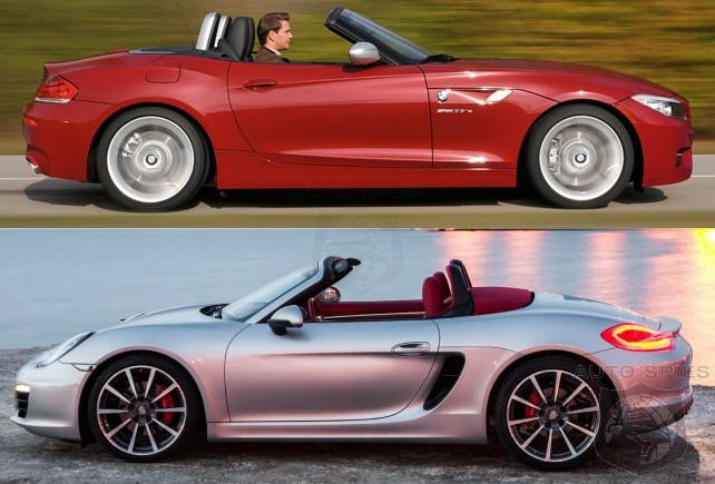 CAR WARS! BMW Z4 sDrive35is vs. 2013 Porsche Boxster S