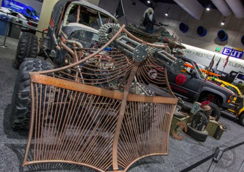 #SDAutoShow: San Diegans Are Keeping Things WEIRD With Zombie Apocalypse Vehicles And MUCH More...