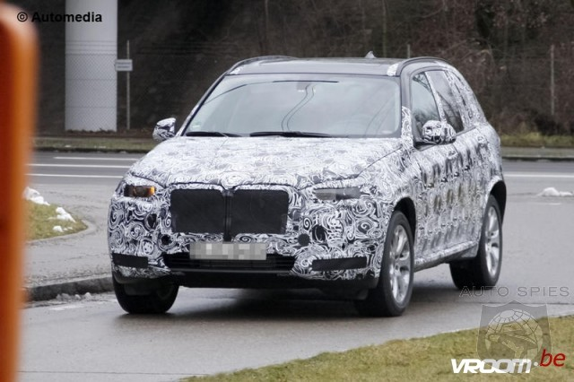 First Spy Photo: Next Generation BMW X5 F40