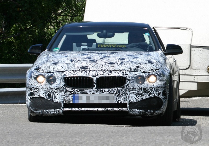 BMW 4 Series Coupe (F32) and Convertible (F33) Expose Kidney Grilles!