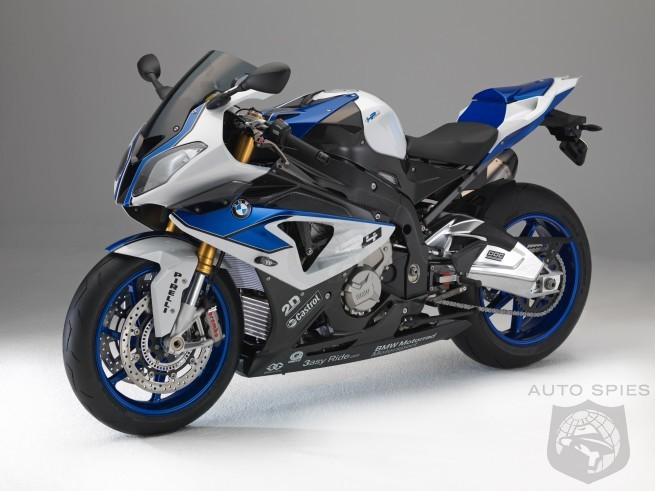 BMW Turns the S 1000 RR Up A Notch and Creates the HP4.