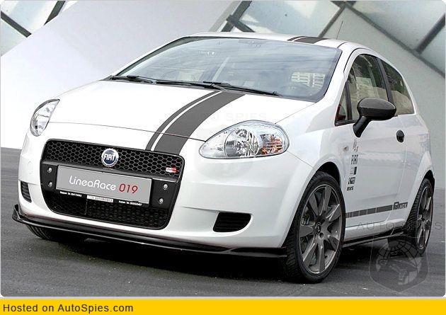 Fiat Grande Punto Linea Race Autospies Auto News