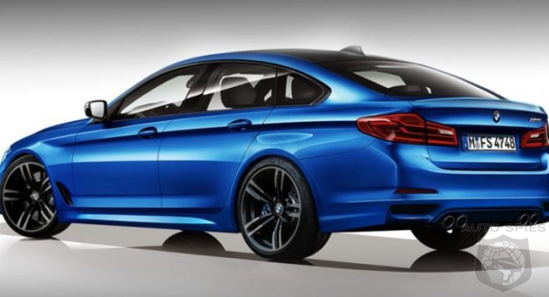 2017 Bmw 5 Series Gt And M5 Renderings