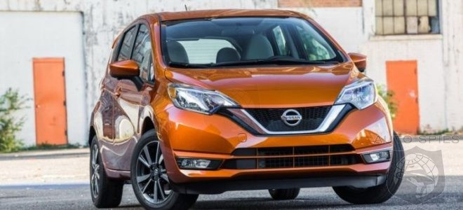 2017 Nissan Versa Note – Inevitable V-motion update