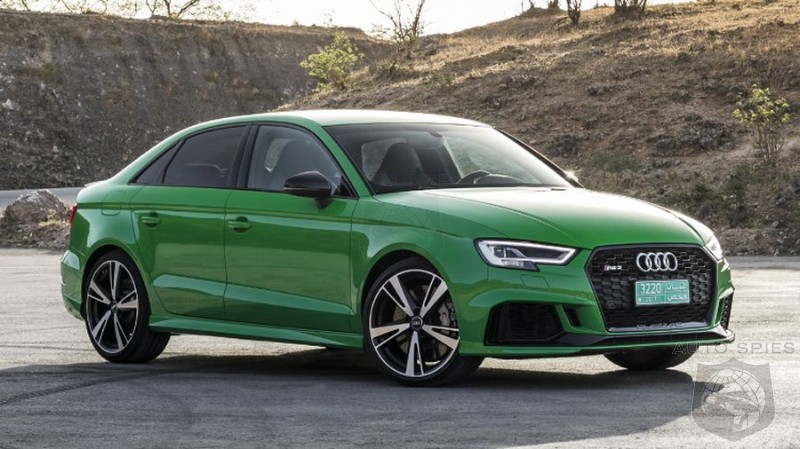 2018 Audi RS3 Sedan – Taking It To The Road