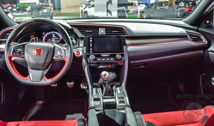 2018 Honda Civic Type R Prototype – Interior Details - AutoSpies ...