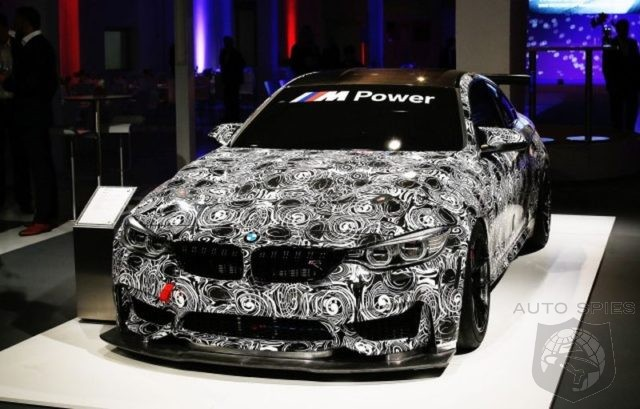 BMW M4 GT4 first official photos!