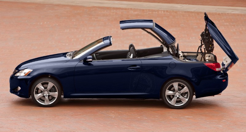 Test Drive and Report: Lexus IS Convertibles (IS 250 C and IS 350 C)