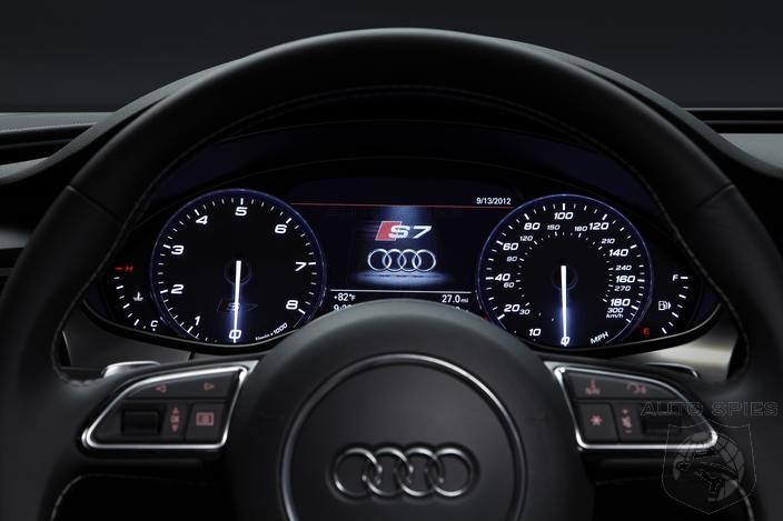 Poseur? Think Again. 2013 Audi S7 Wins 'Connected Car of the Year' Award for Luxury Category By Connected World Magazine!