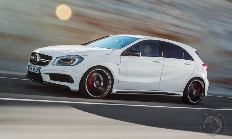 Autocar Group Test: Mercedes-Benz A45 AMG vs. BMW M135i vs. Volkswagen Golf GTI!!