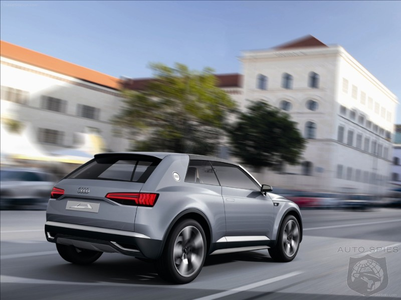 Audi Q8 Confirmed For Production - Will Sit Above Q7 and is Audi's 4th New SUV in the Pipeline