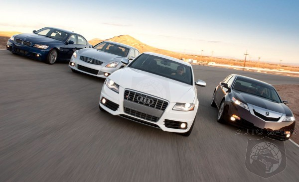 Mid-Sized Luxury Sedan Shootout! Audi, BMW, Infiniti, And Acura - Who Walks Away The Winner?