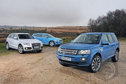 2013 Audi Q5 Defeats Land Rover Freelander and Volvo XC60 D5 in Auto Express Comparison Test!