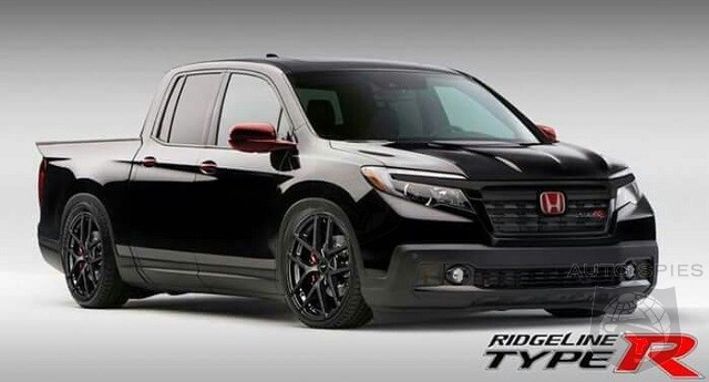 2018 Honda Ridgeline Type R – Specs and Price