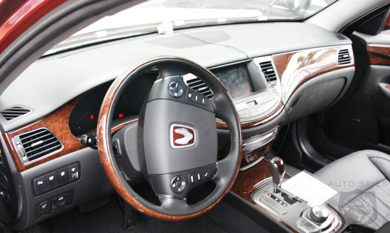 Hyundai Genesis   First Interior Pictures