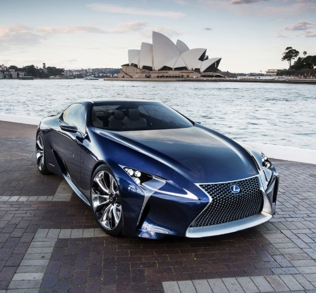 Lexus LF-LC Concept Gets The Okay For Production