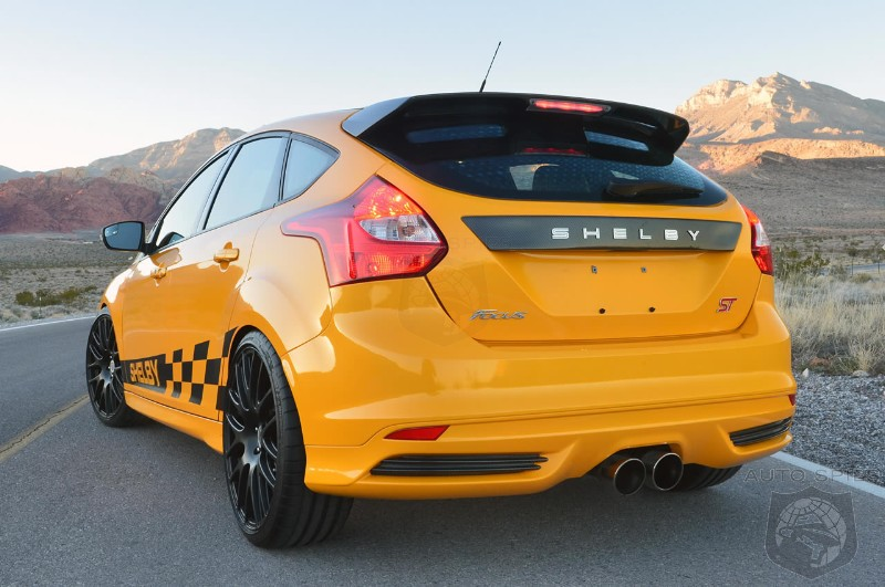 Focus ST Unveiled With SHELBY Package - AutoSpies Auto News