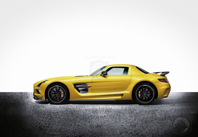 2013 Sports Car of the Year Goes to the SLS AMG Black
